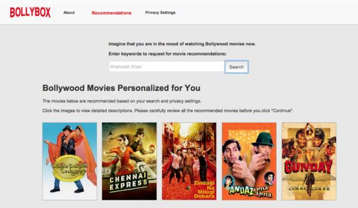 Privacy settings can help ease suspicion of recommendation-making sites and apps