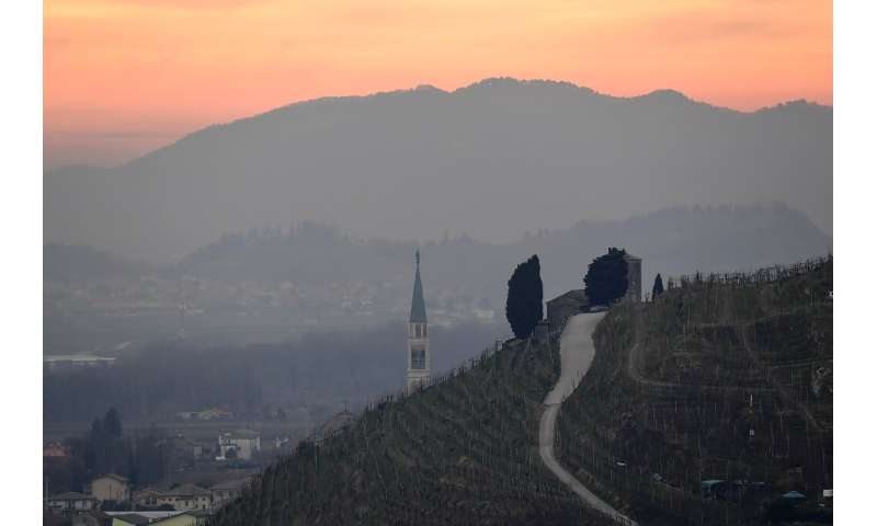 Prosecco is produced in a territory spread over nine provinces in Italy's northeast