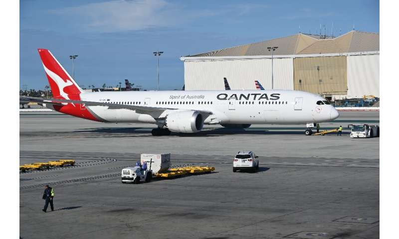 Qantas will use Boeing 787-9 aircraft for three test flights from Australia's east coast to London and New York
