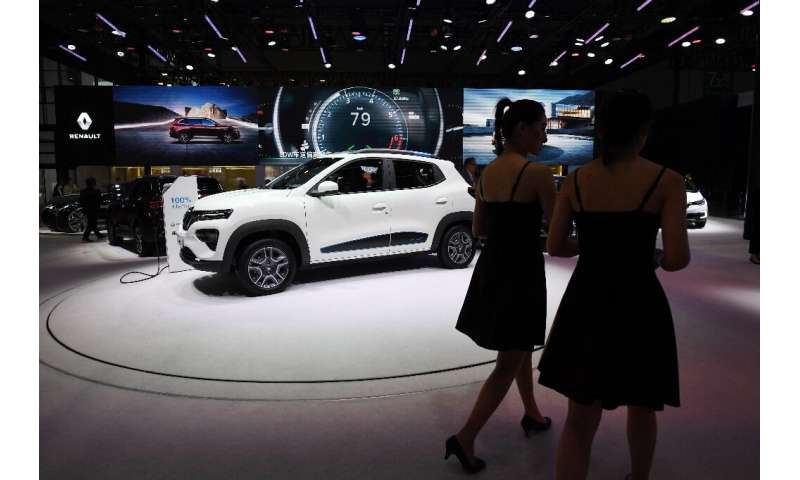 Renault has pushed ahead in electric cars but is relatively weak in North America