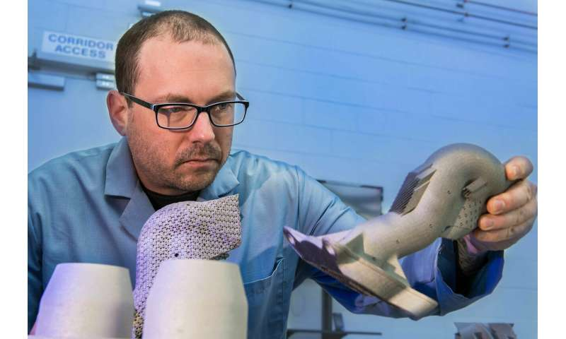 Researchers 3D print ultra-strong steel parts from powder