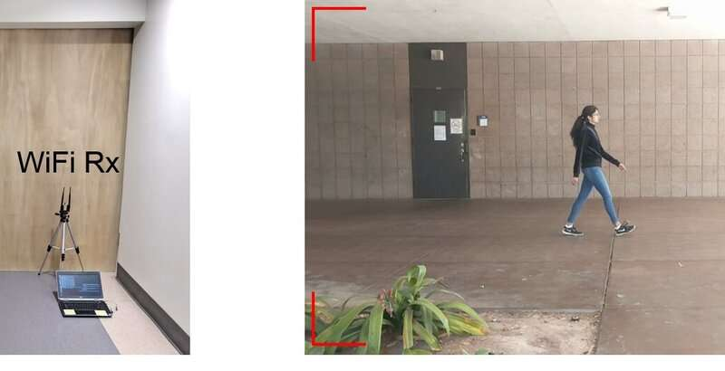 Researchers' new method enables identifying a person through walls from candidate video footage, using only WiFi