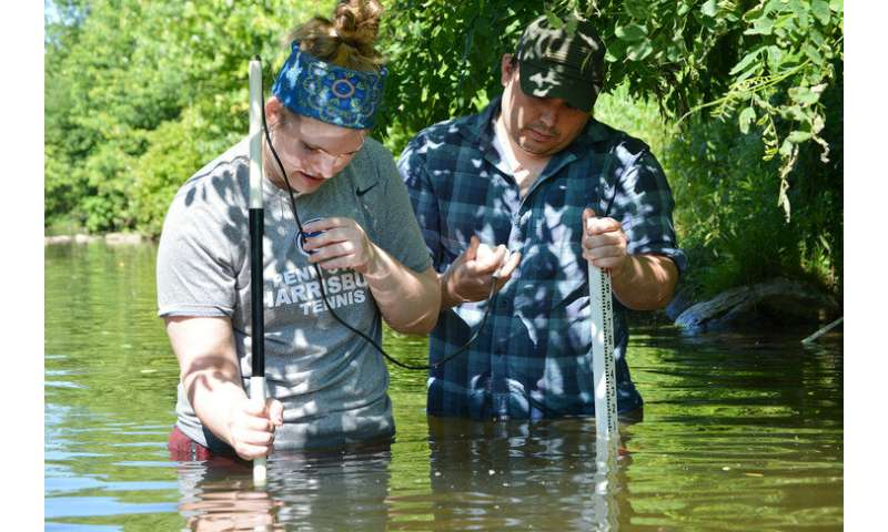 Research examines stream restorations with an eye on improving Chesapeake Bay