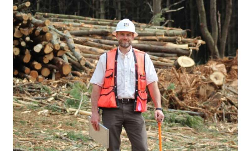Researching new ways to use secondary logging materials