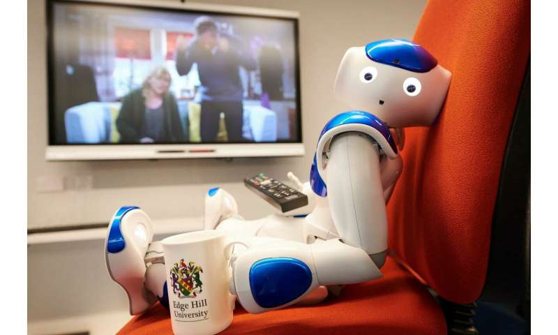Research robot becomes fan of UK soap opera after watching to learn about dementia