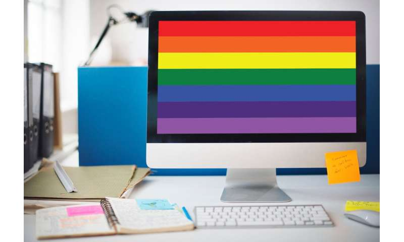 Revealing sexual orientation at work improves well-being