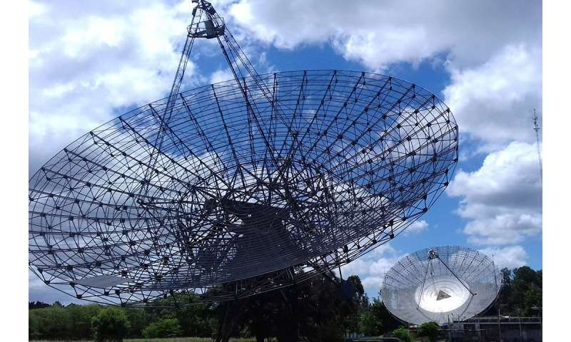 RIT and IAR observe pulsars for the first time from South America