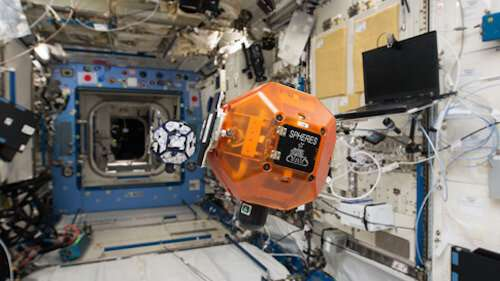 Robotic bees are joining the International Space Station