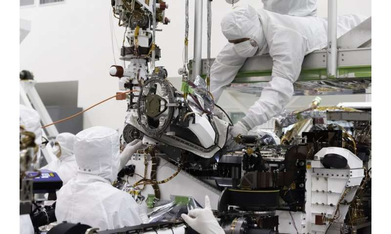 Robotic toolkit added to NASA's Mars 2020 rover