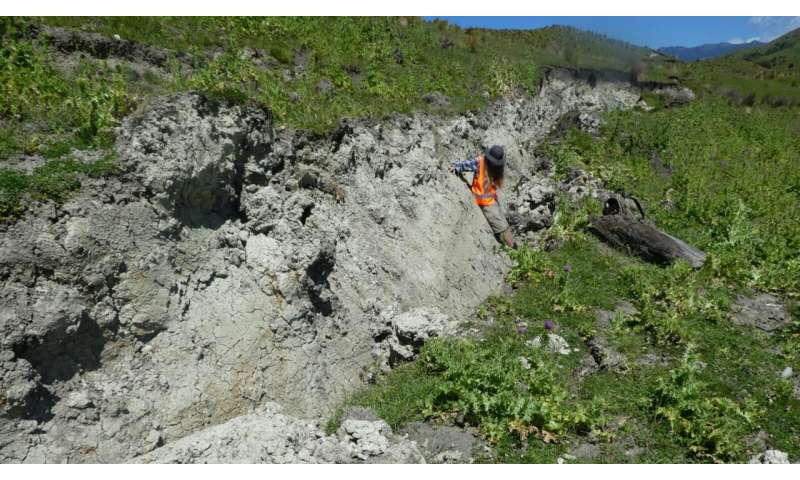 Rock scratches hint at future quakes