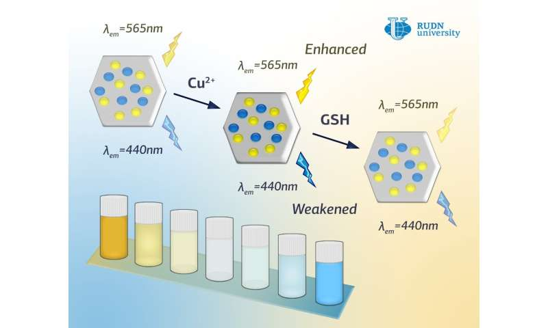 RUDN chemist created a new fluorescent probe for glutathione detection