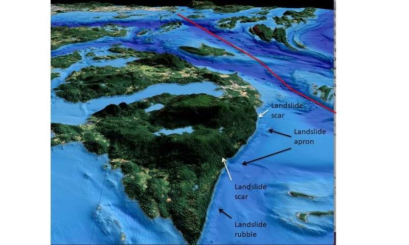 Salish seafloor mapping identifies earthquake and tsunami risks