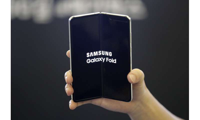 Samsung's folding phone hits the US