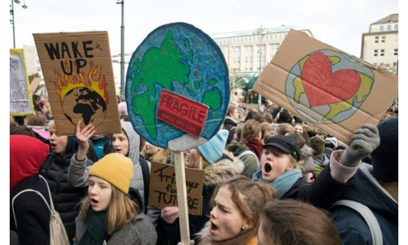 Schoolchildren around the world have held protests demanding climate protection