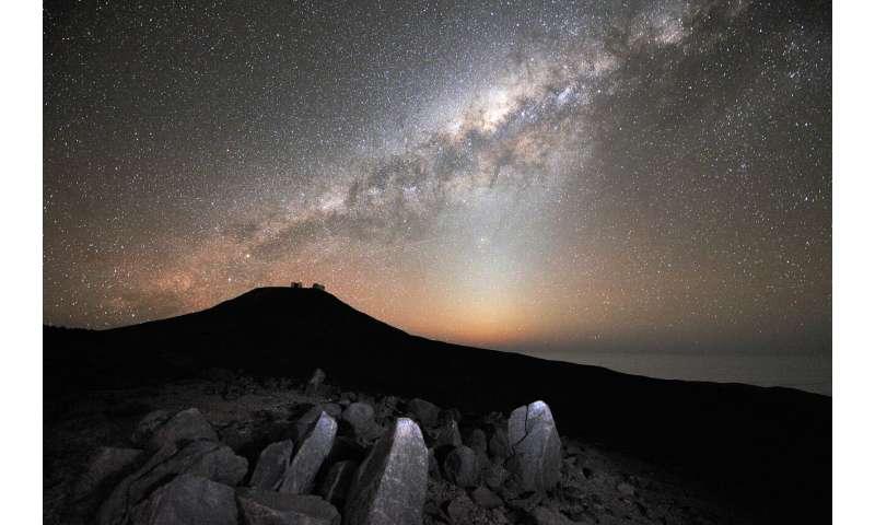 Second stellar population found in Milky Way's thick disk
