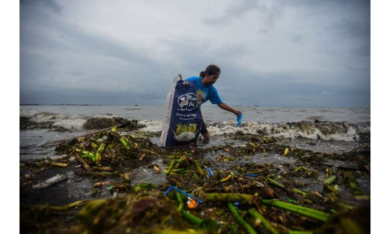 Seventy-nine percent of the plastic ever made has ended up dumped according to a UN report from 2018