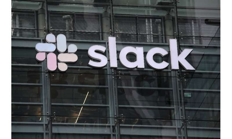 Shares of Slack jumped after the company made its debut on the New York Stock Exchange through a direct listing