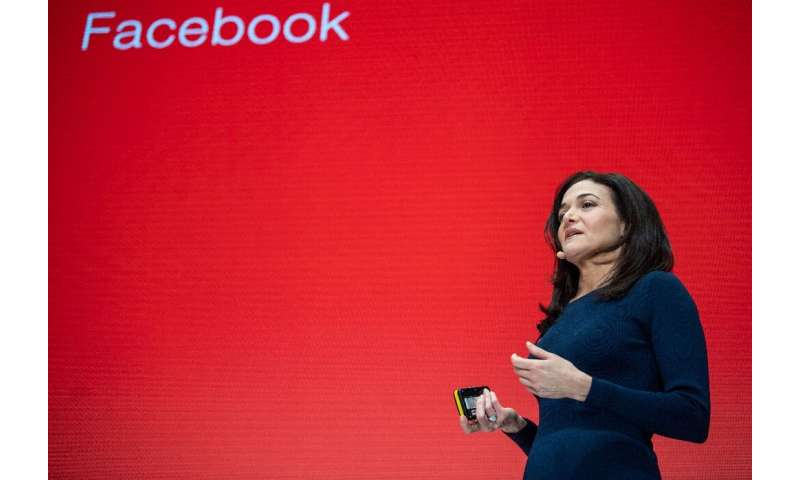 "Sheryl Sandberg, chief operating officer of Facebook, said a breakup of big internet firms might not address the ""underlyin"