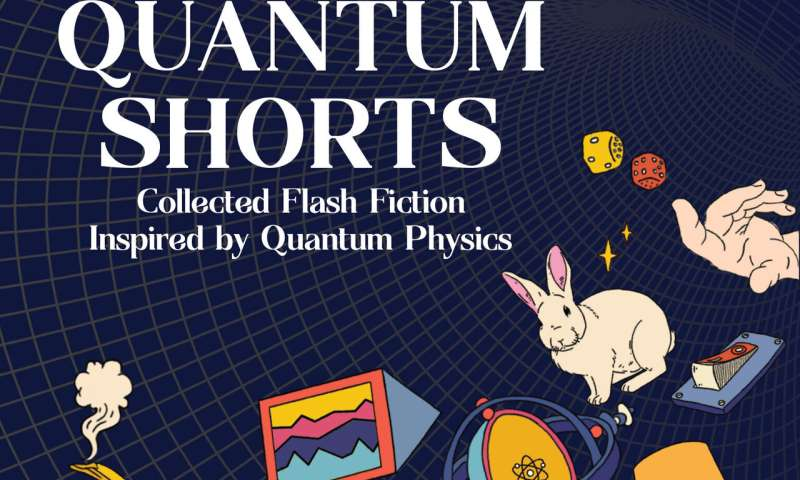 Short story collection to entangle readers in the quantum world