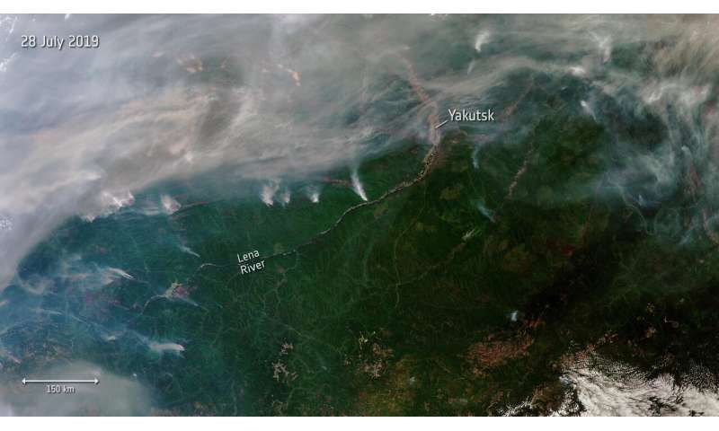 Siberian wildfires