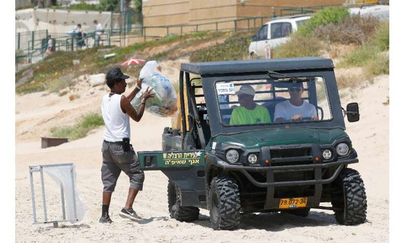 Since 2005, Israel's environmental protection ministry has offered local councils incentives for proven results in cleaning thei