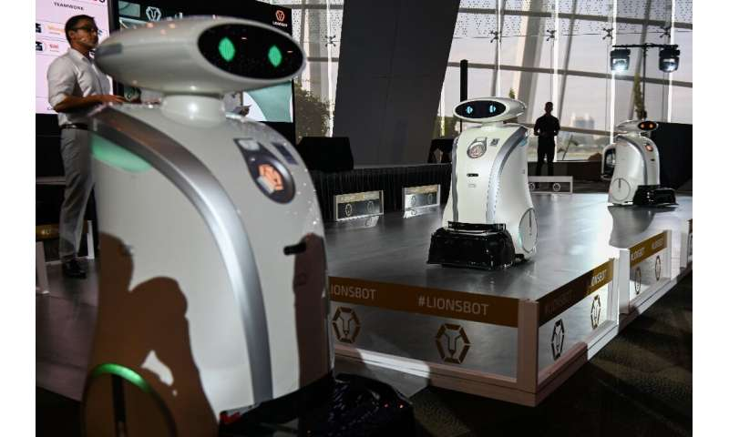 Singapore's new robots will act as assistants to the city's cleaners