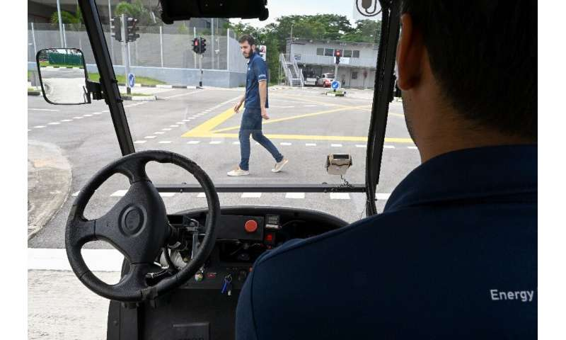 Singapore's self-drive test centre is at the heart of the city's push to become a hub for autonomous technology