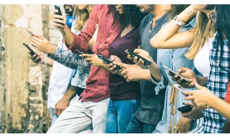 Social media stress can lead to social media addiction