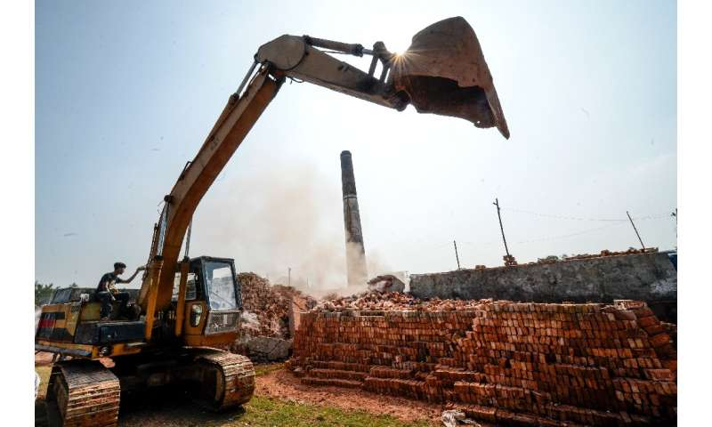So far at least 25 illegal kilns have been closed, Bangladesh's environment department said
