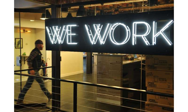 Softbank is a major investor in office-sharing startup WeWork, which has faced scepticism over its ability to make money