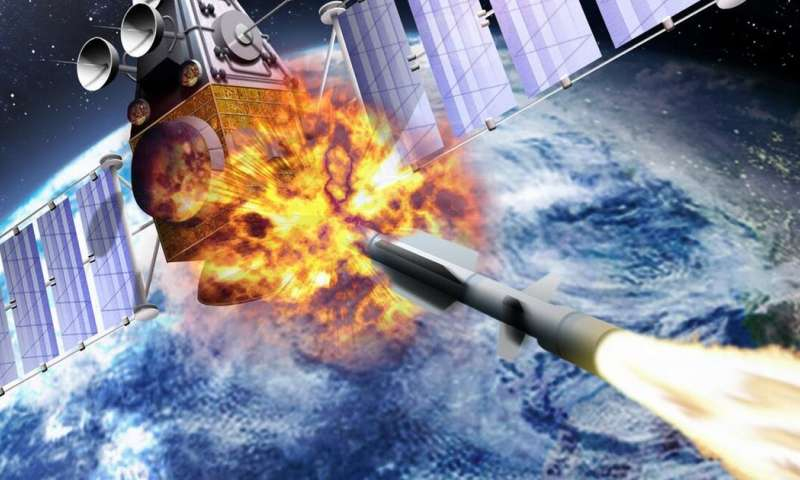 Space may soon become a war zone – here's how that would work