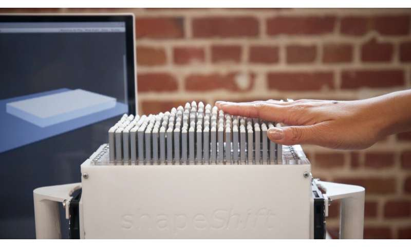 Stanford increasing access to 3D modeling through touch-based display