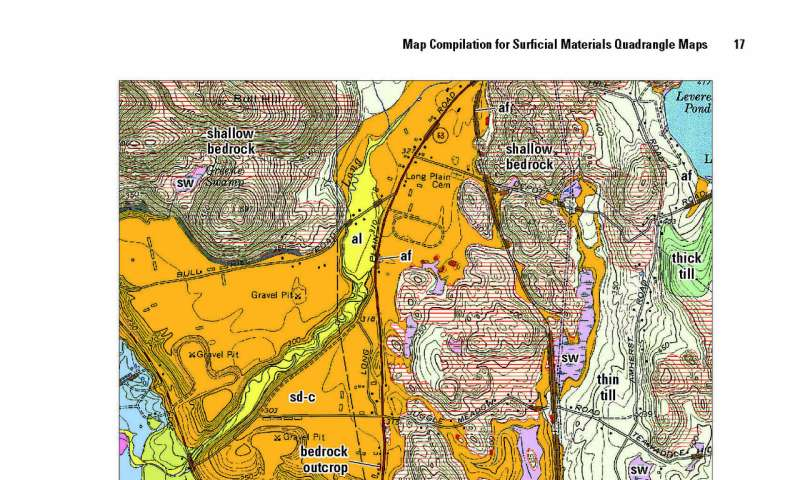 State geologist, partners create new surface geology maps for Massachusetts