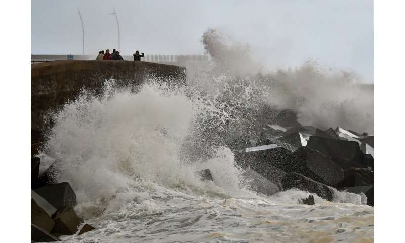 Storm Elsa flooded rivers, brought down power lines and disrupted rail and air travel across Spain, Portugal and France