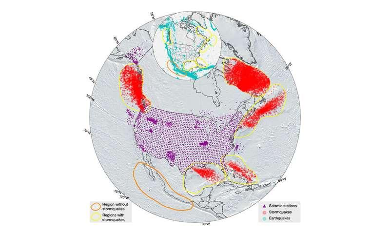 Stormquakes: Powerful storms cause seafloor tremors