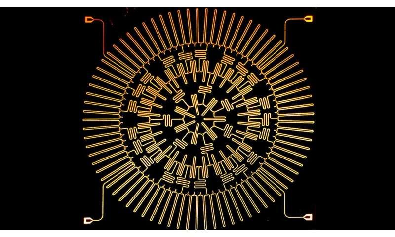 Strange warping geometry helps to push scientific boundaries