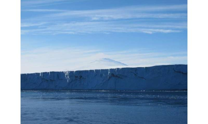 Strong storms also play big role in Antarctic ice shelf collapse