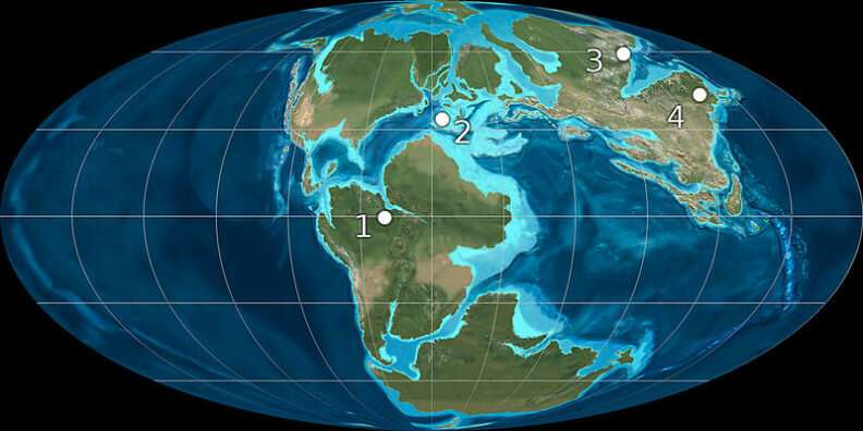 Study finds billion-year superocean cycles in Earth's history