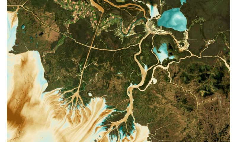 Studying water quality with satellites and public data