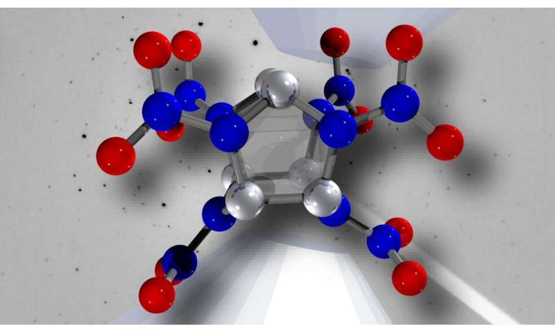 Study on stability of highly energetic materials