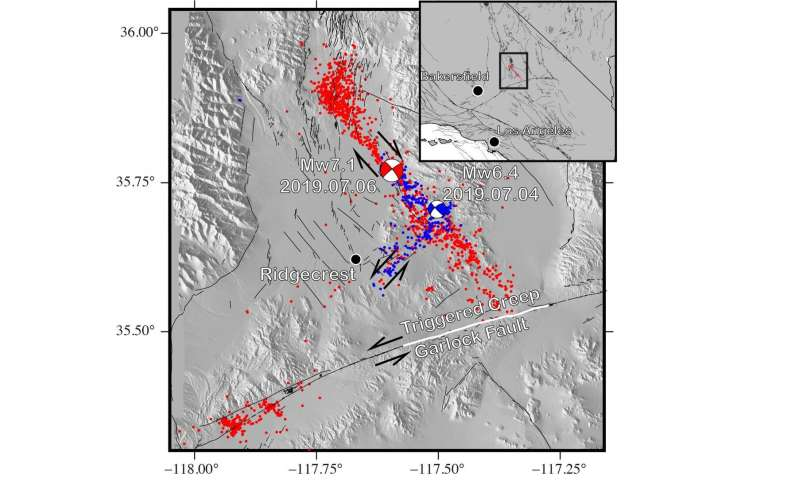 Study says Southern California earthquakes increased stress on major fault line
