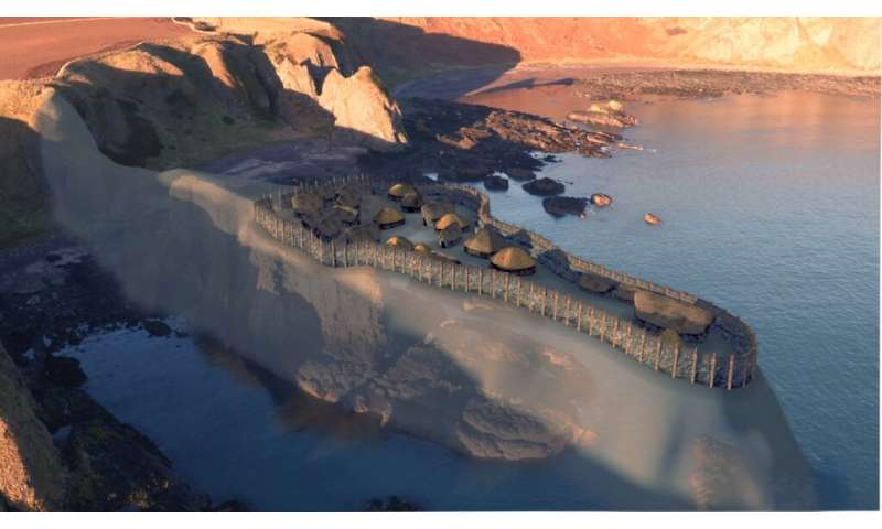 Recreation video shows how 'earliest Pictish fort' may have looked