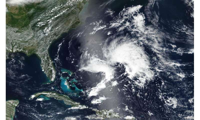 Subtropical storm Andrea jumps the gun as the first storm of 2019 Atlantic season