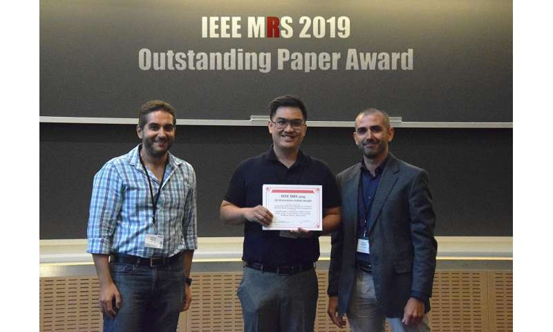 SUTD's research on a multi-robots system wins Outstanding Paper Award at IEEE MRS 2019