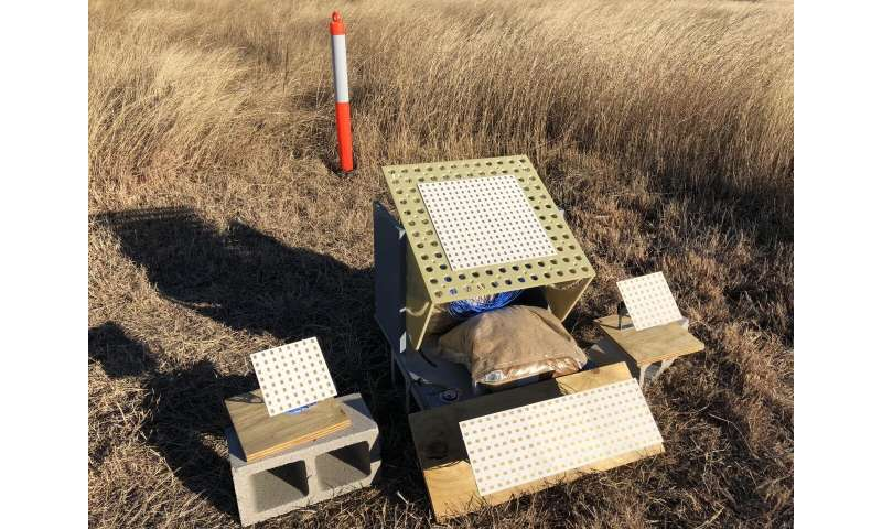 SwRI team designs two-dimensional radar reflector to measure subtle ground movement