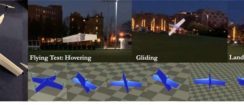 Take flight! Automating complex design of universal controller for hybrid drones