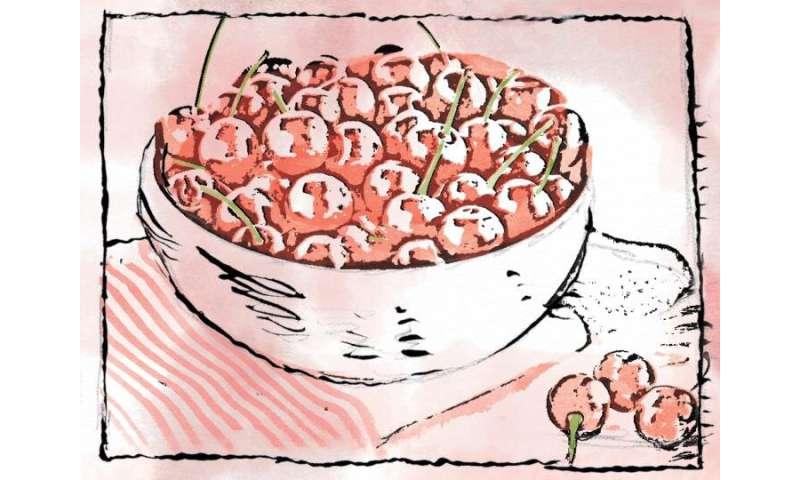 Tart cherry juice may juice up the brain