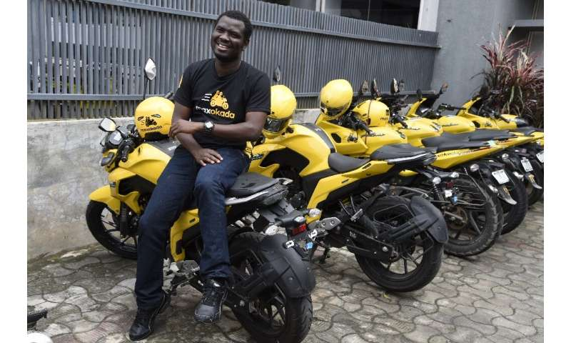 Tayo Bamiduro, founder and CEO of motorcycle taxi app MaxOkada