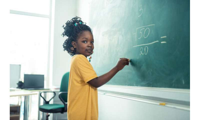 Teacher bias devalues math skills of girls and students of color, research finds