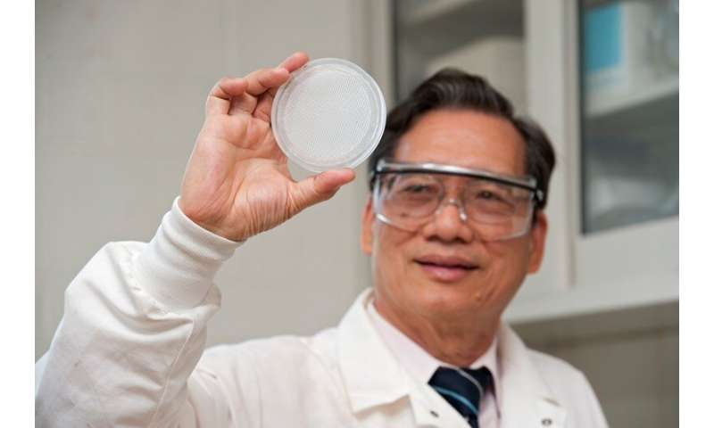Technology selectively filters perchlorate from water